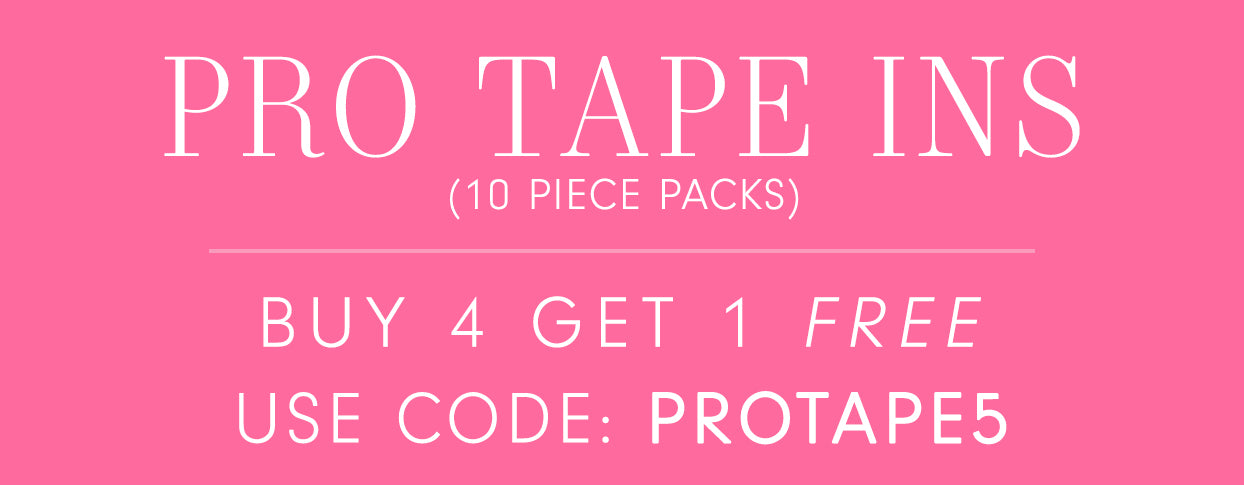 Buy 4 Glam Seamless Pro Tapes and receive one free!
