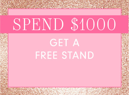 Spend $1000 at Glam Seamless and receive free products.