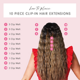 Beach Wave Clip In Install Guide