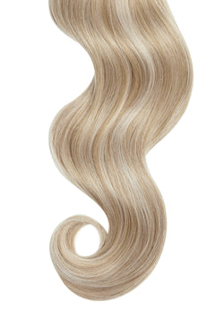 Dirty Blonde Highlights Ultra Seamless Tape In Hair Extensions