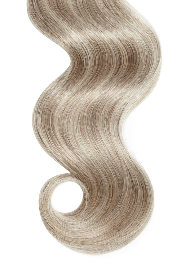 Champagne Highlights Ultra Seamless Tape In Hair Extensions