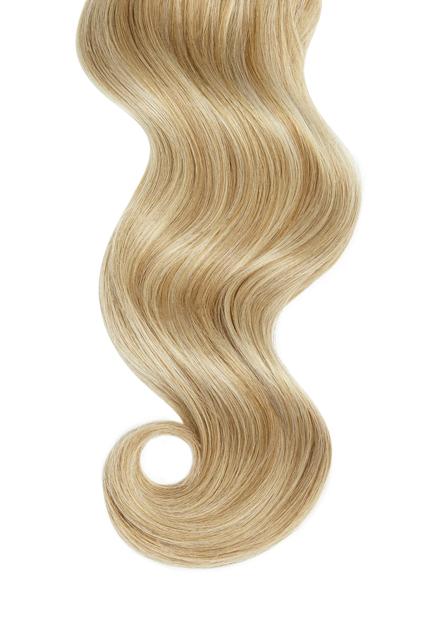 Beach Blonde Highlights Invisible Tape In Hair Extensions