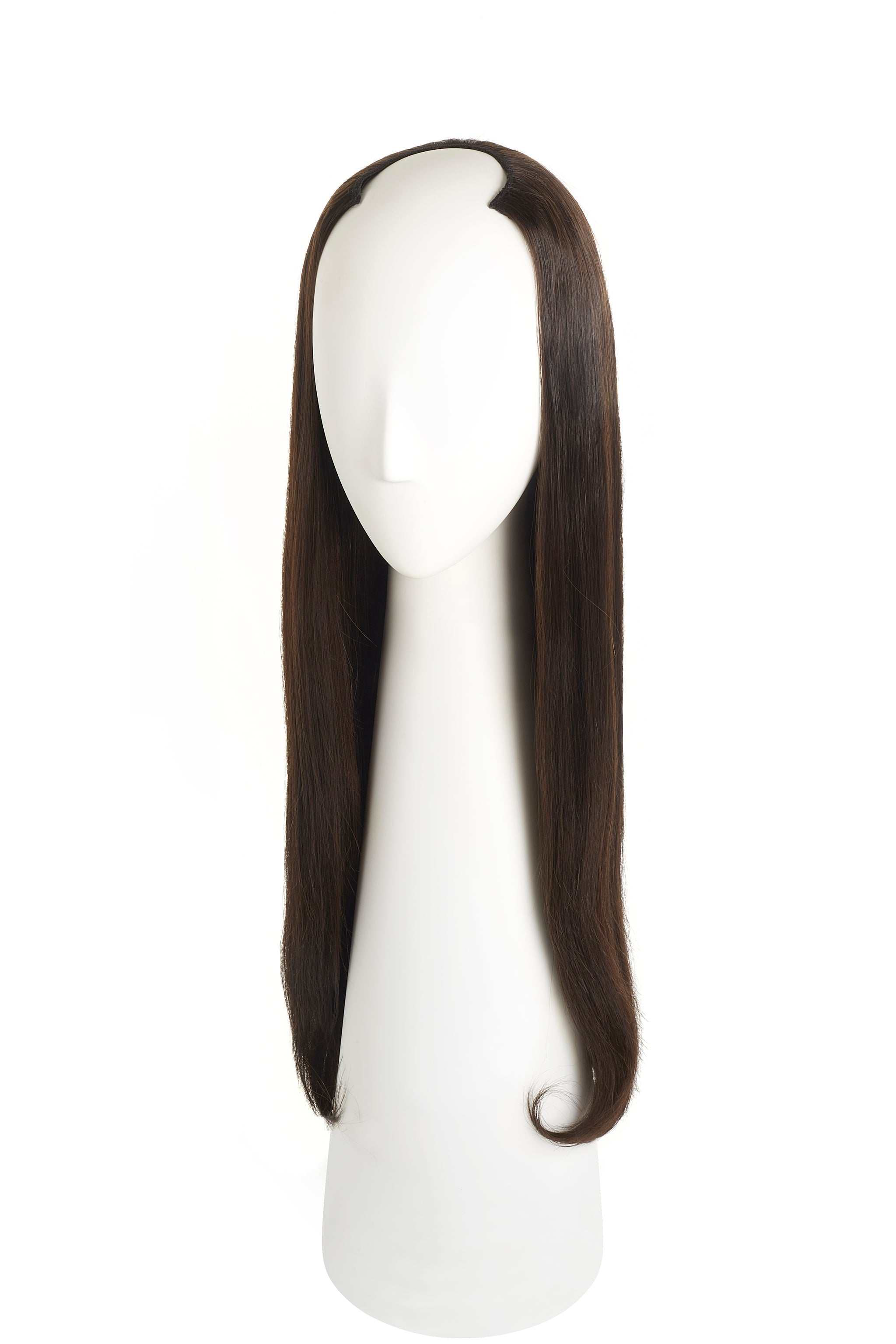 Natural Black (1B) U-Part Wig