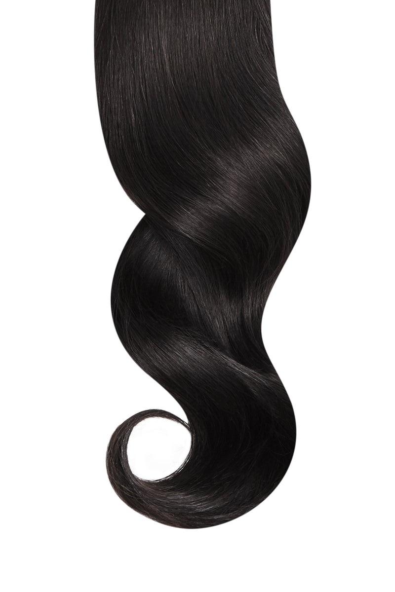 Natural Black Remy Tape In Hair Extensions