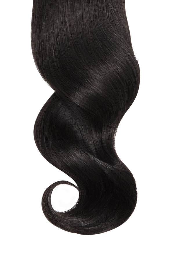 "Natural Black (1B) 32"" Virgin Hair Weft Bundle"