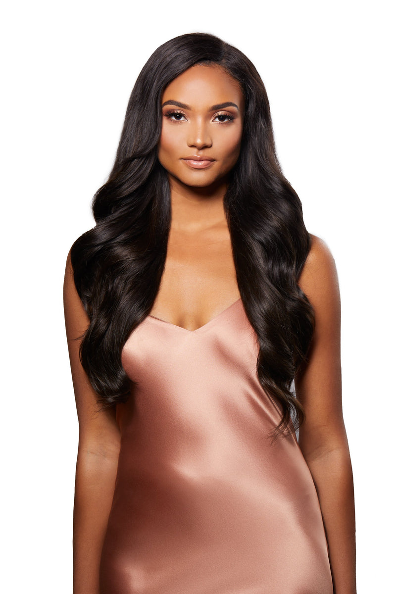 Natural Black Glam Seamless Extensions