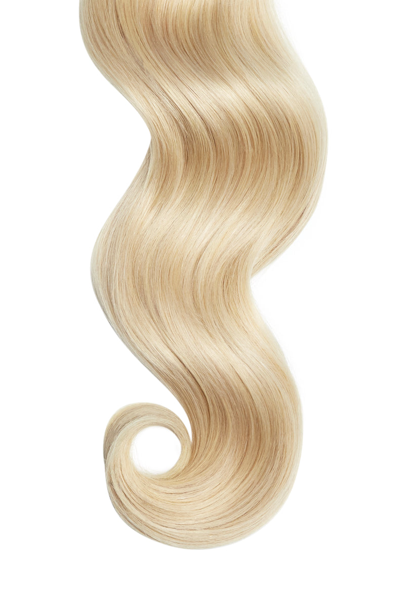 Light Golden Blonde Remy Tape In Hair Extensions