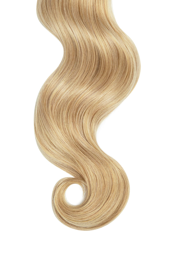 Golden Blonde Ultra Seamless Tape In Hair Extensions