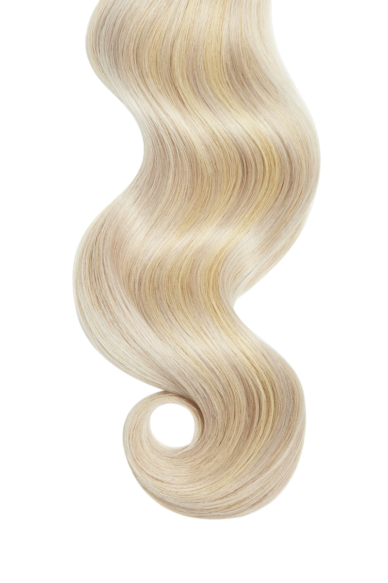 Vanilla Swirl Highlights Remy Tape In Hair Extensions
