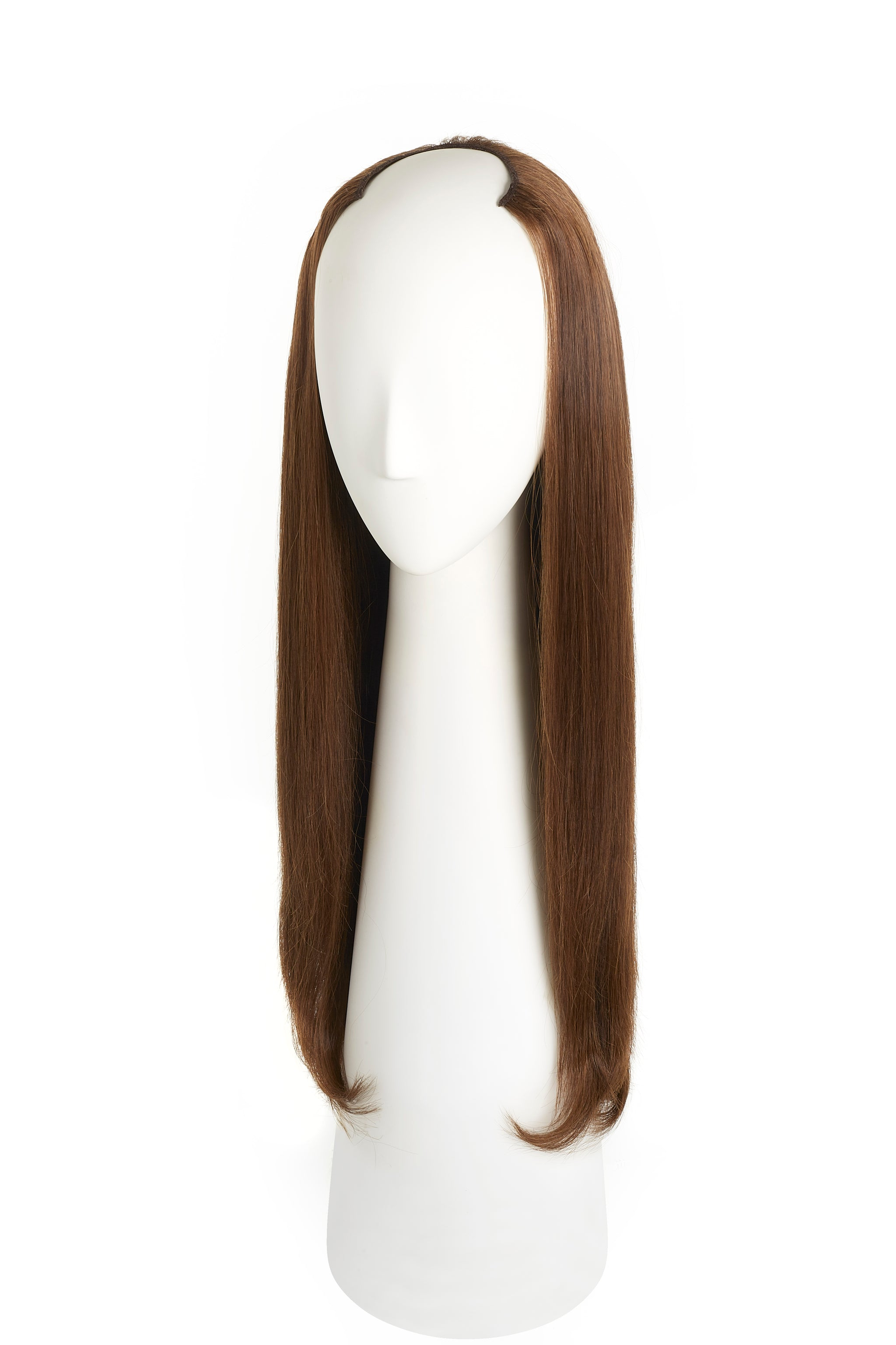 Chocolate Brown (3) U-Part Wig