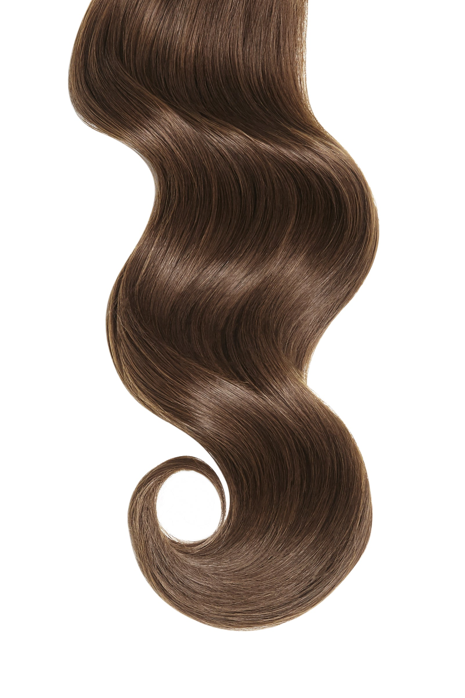 Chocolate Brown Invisible Tape In Hair Extensions