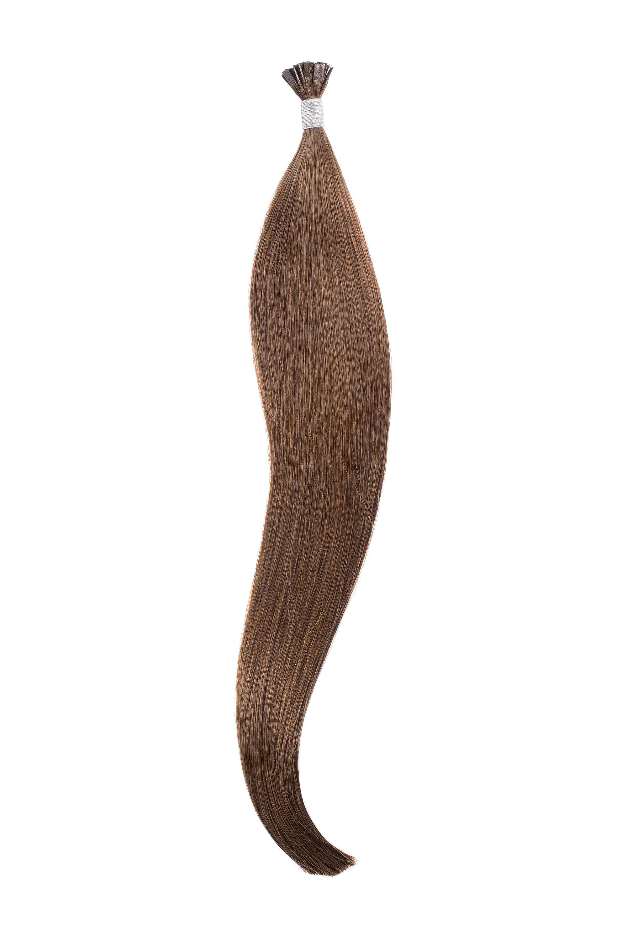 Dark Medium Ash Brown (4) Keratin Bond Extension