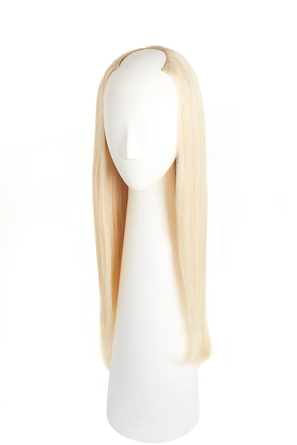 Platinum Ash Blonde (60) U-Part Wig