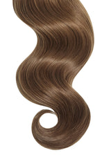 Bronzed Brown Ultra Seamless Tape In Hair Extensions