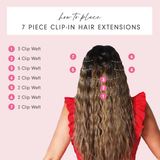 Clip In Hair Extension Install Guide