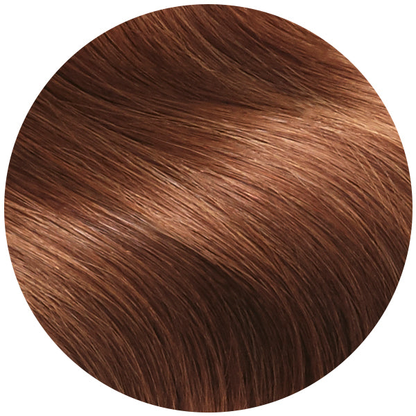 Auburn Red Ultra Seamless Tape In Hair Extensions