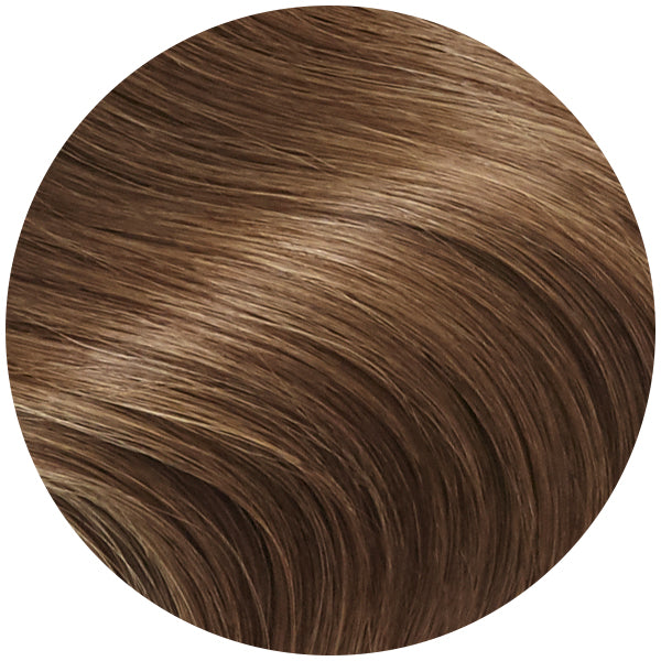 Bronzed Brown Remy Tape In Hair Extensions