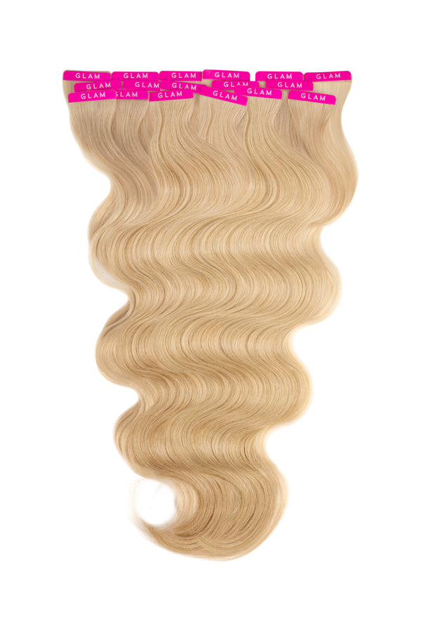 24g Beach Wave Tape In Hair Extensions