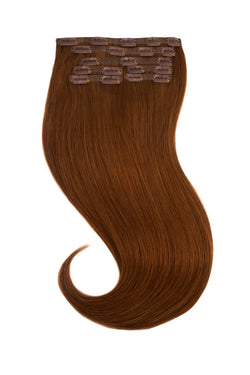 Bronzed Brown (6) Clip In Hair Extension