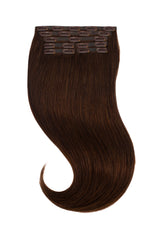 Dark Brown Clip In Hair Extensions