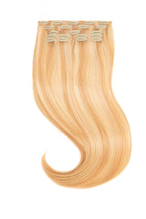 Golden Blonde Highlighted Clip In Extensions