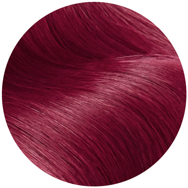 Red Cherry Wine Remy Tape In Hair Extensions