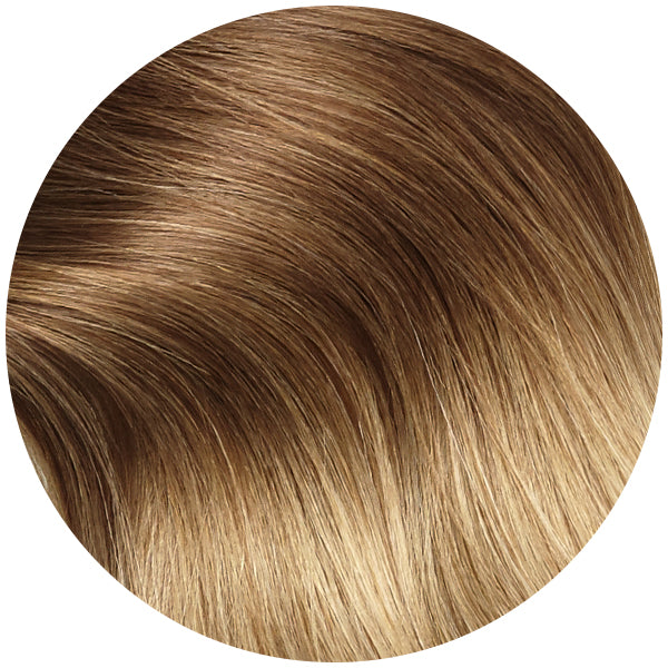 Traditional Hair Weft Bundle Honey Blonde Sombre