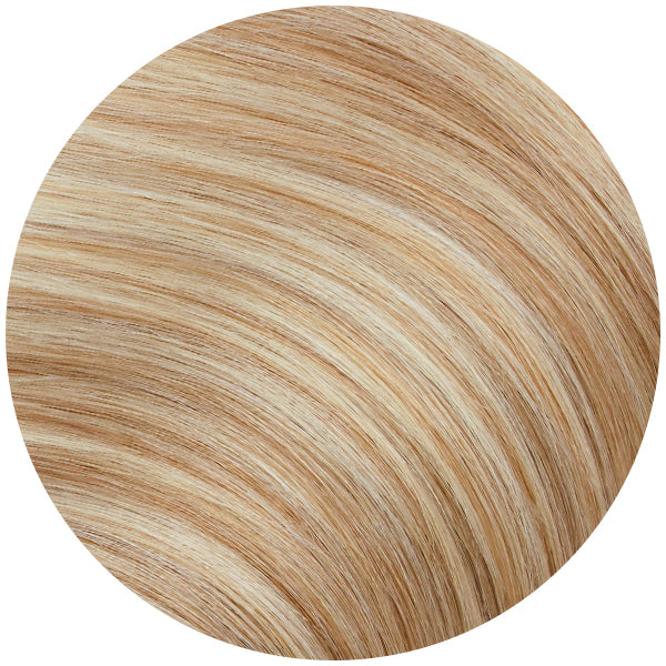 Honey Blonde Highlights Ultra Seamless Tape In Hair Extensions