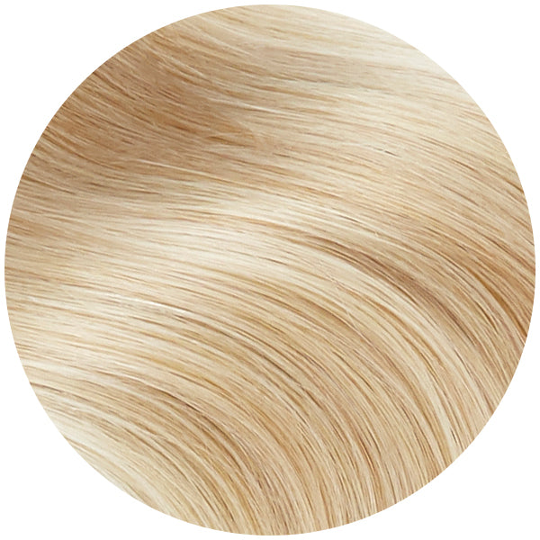 Blonde Highlighted Remy Tape In Hair Extensions