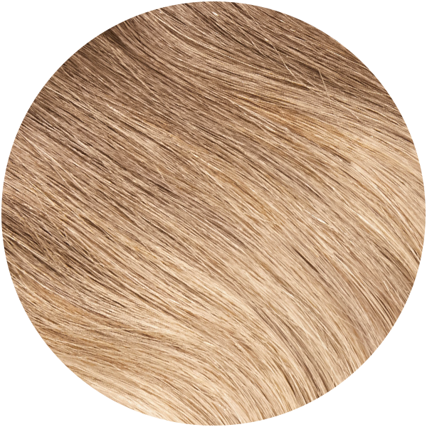 Cream Beige Balayage Halo Hair Extension