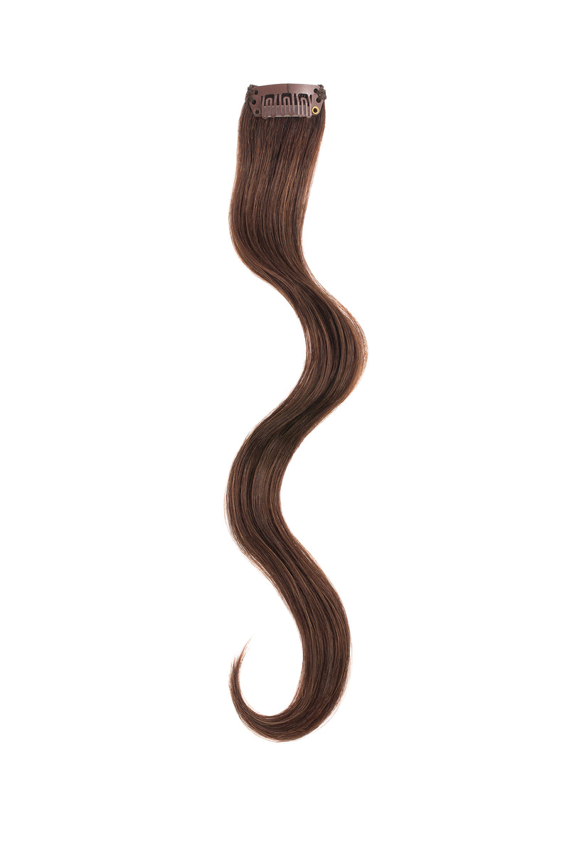 Dark Brown Beach Wave Clip Sample