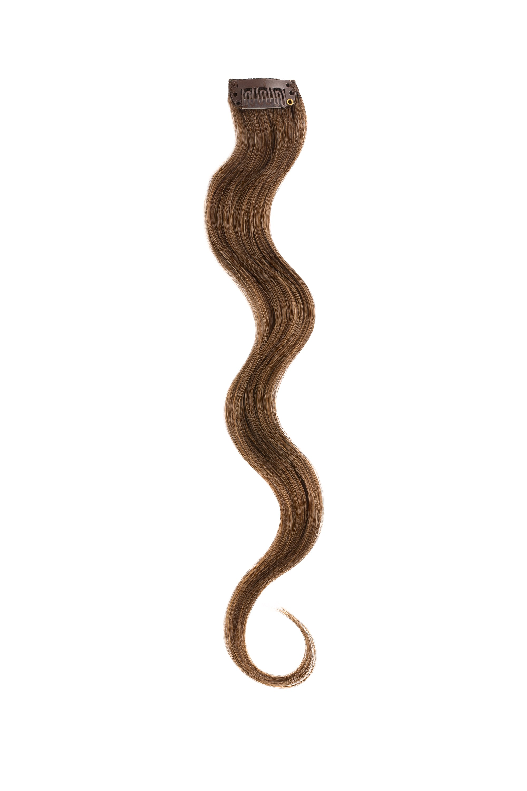 Chocolate Brown Beach Wave Clip Sample