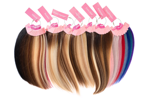 Glam Seamless Hair Extensions Color Ring
