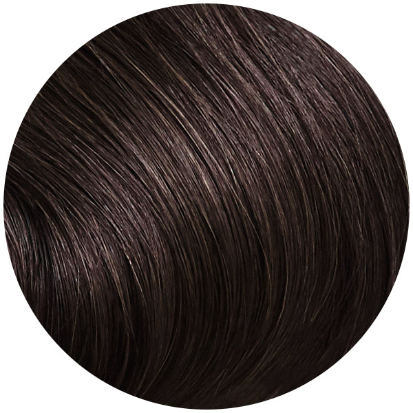 Dark Brown Invisi Weft Bundle