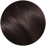 Seamless Clip In Extensions Espresso Black Brown