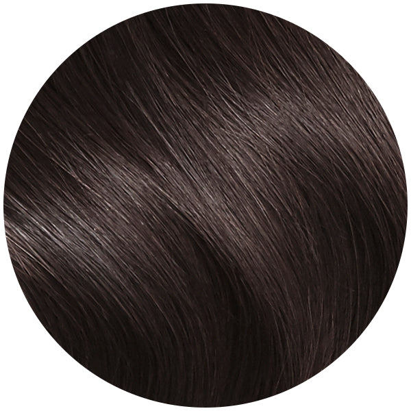 Espresso Black Brown Ultra Seamless Tape In Hair Extensions