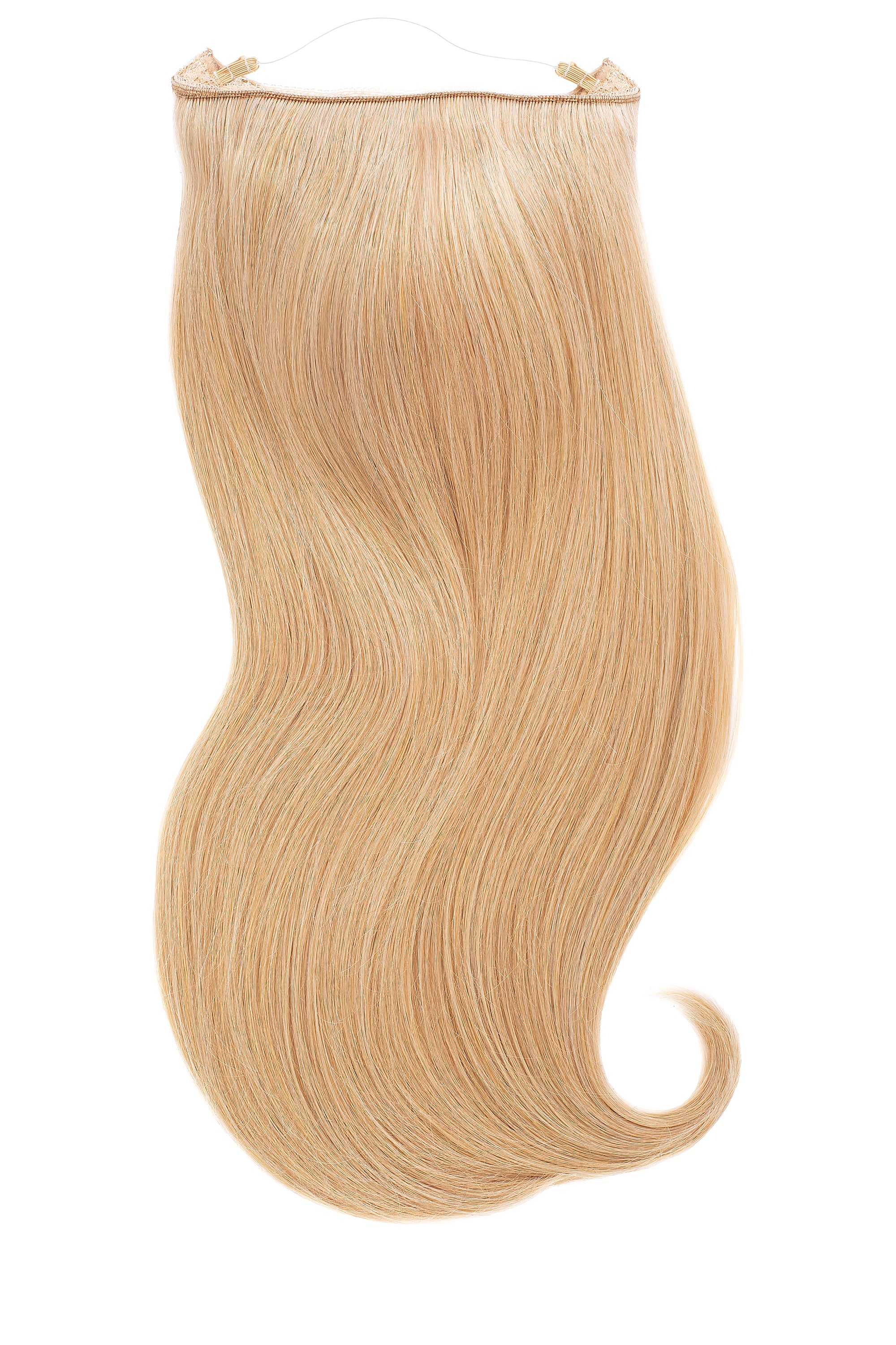 Golden Blonde Halo Hair Extension