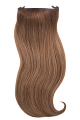 Soft Brunette Balayage Halo Hair Extension