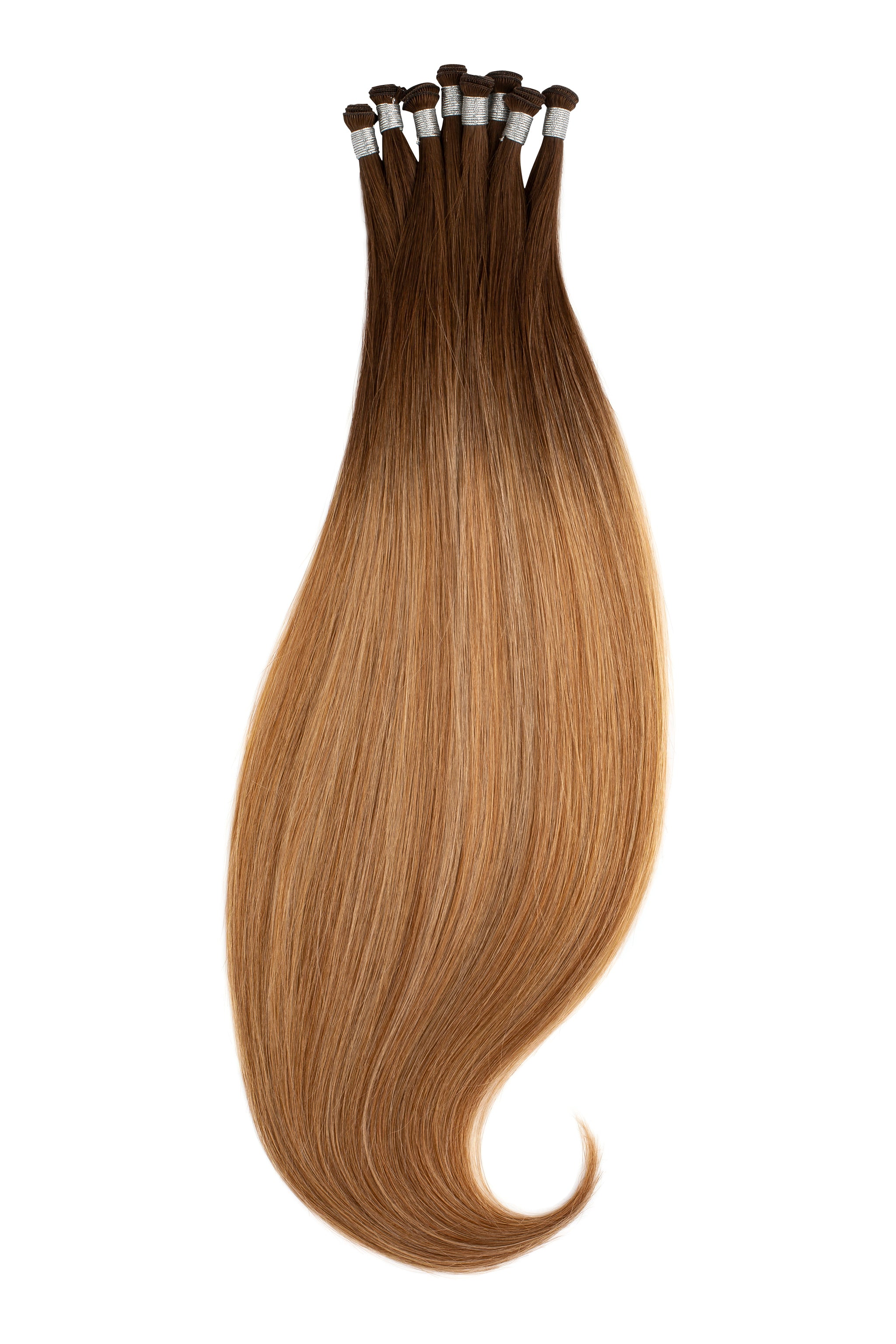 Bahamian Balayage Hand-Tied Wefts braidless sew in