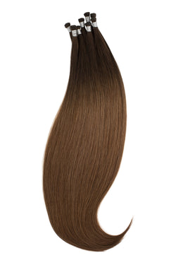 Honey Dip Ombré (2/6) Hand-Tied Wefts braidless