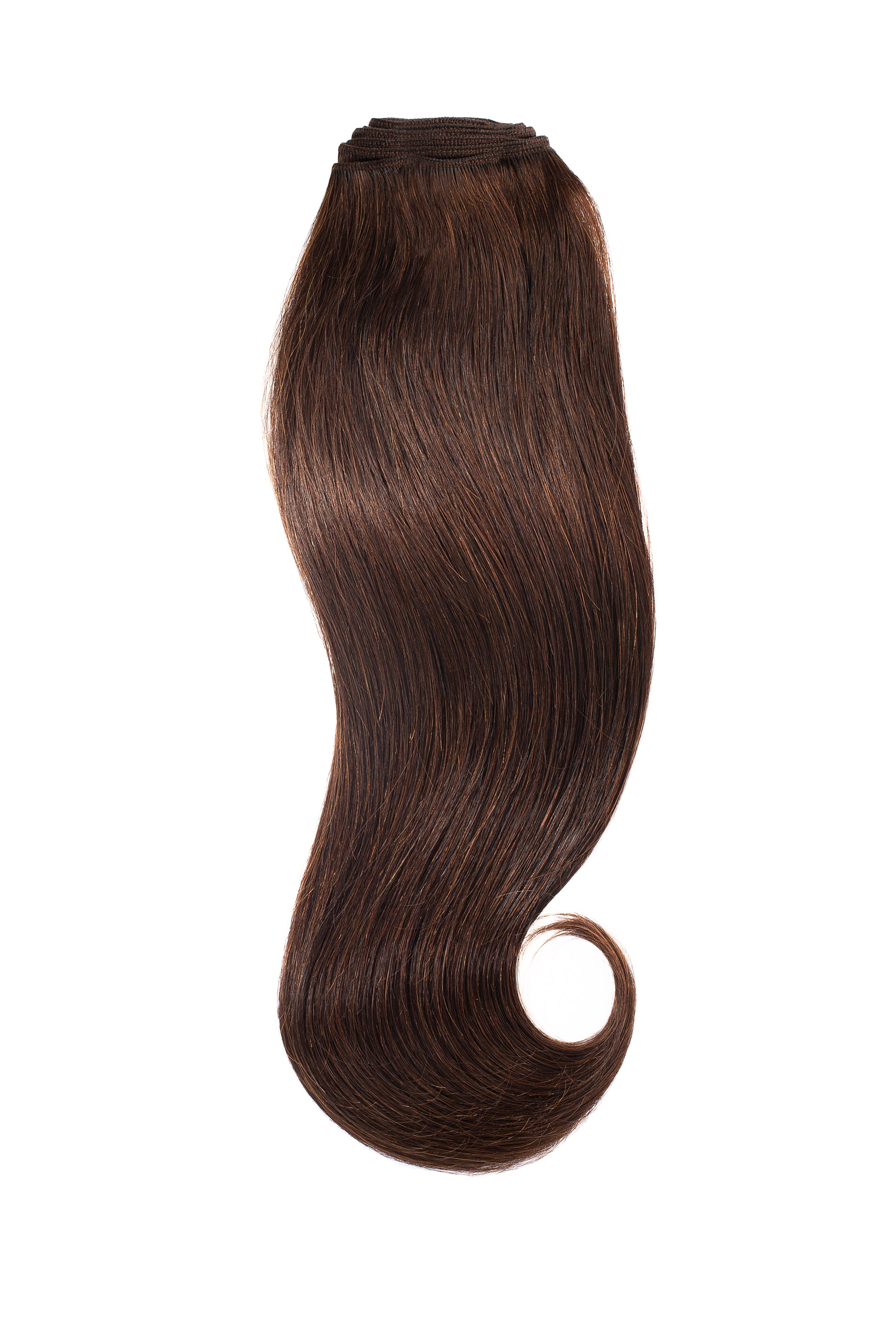 Dark Brown Traditional Hair Weft Bundle