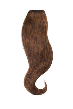Chocolate Brown Traditional Hair Weft Bundle