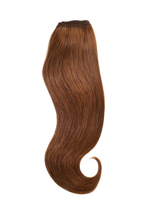 Light Chocolate Brown Traditional Weft Bundle