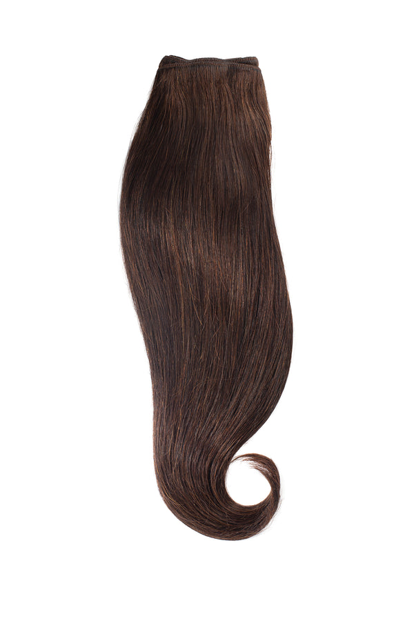 Espresso Black Brown Traditional Hair Weft Bundle