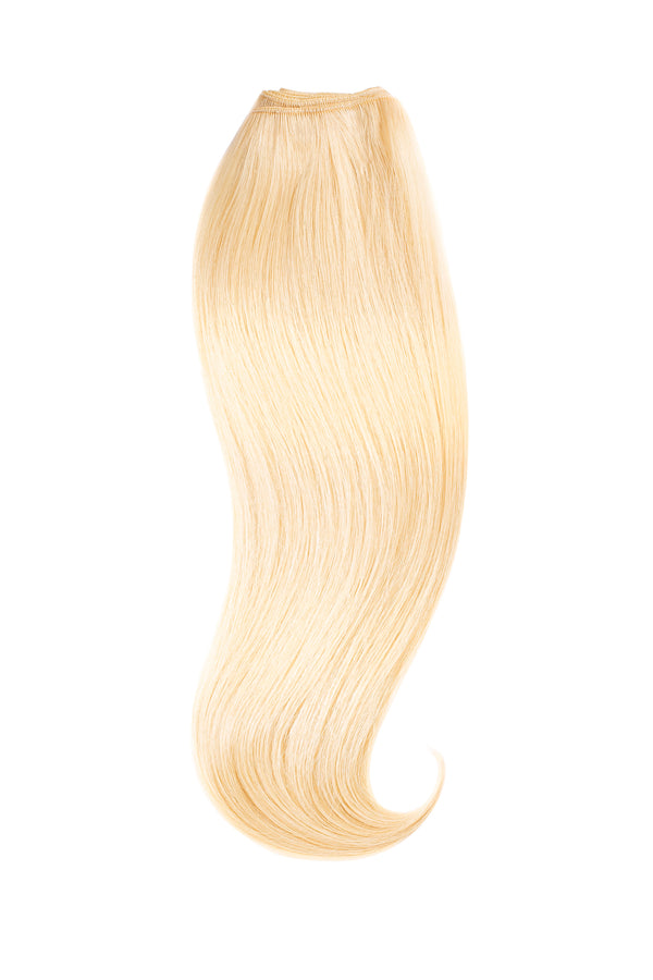 Light Golden Blonde Traditional Hair Weft Bundle