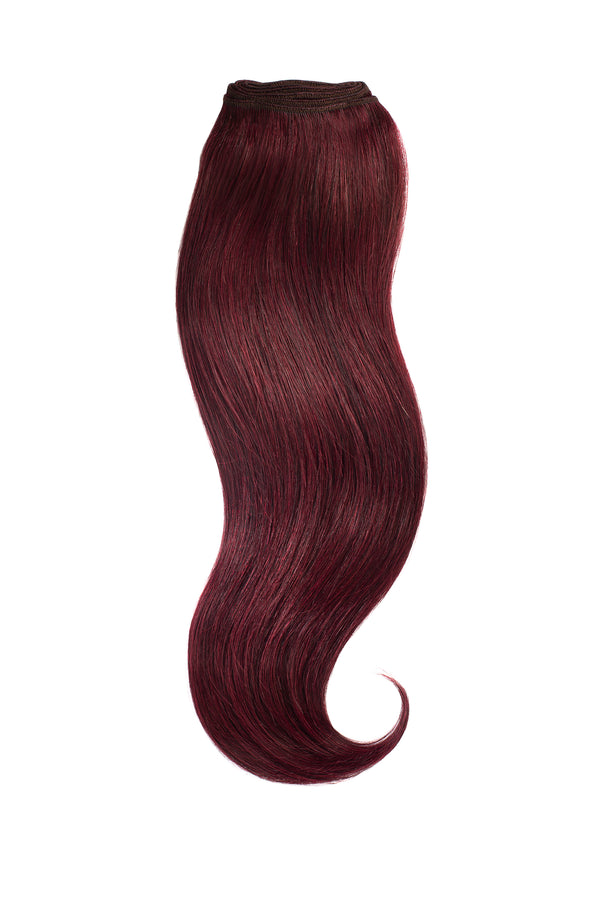 Red Merlot Traditional Hair Weft Bundle