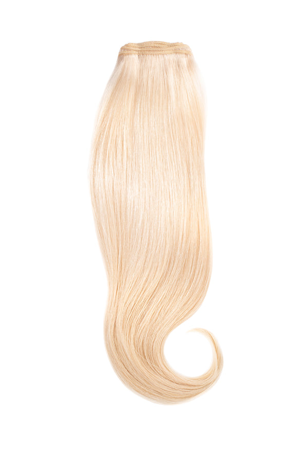Platinum Ash Blonde Traditional Hair Weft Bundle