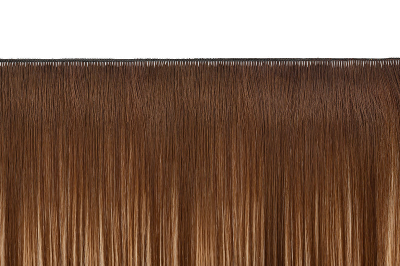Caramel Honey Sombré (4/6/27) Hand-Tied Wefts