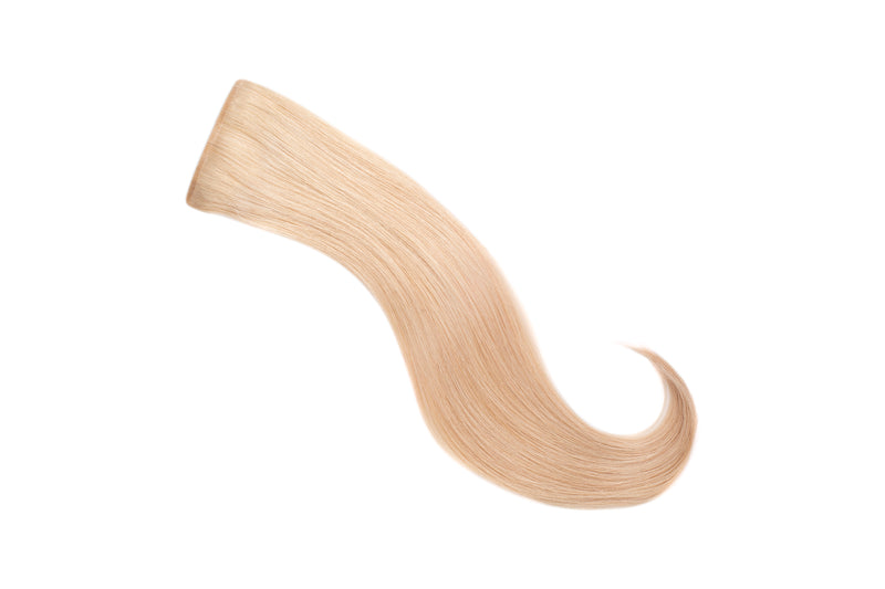 Glam seamless invisi-clip single clip extensions temporary semipermanent diy clip-in