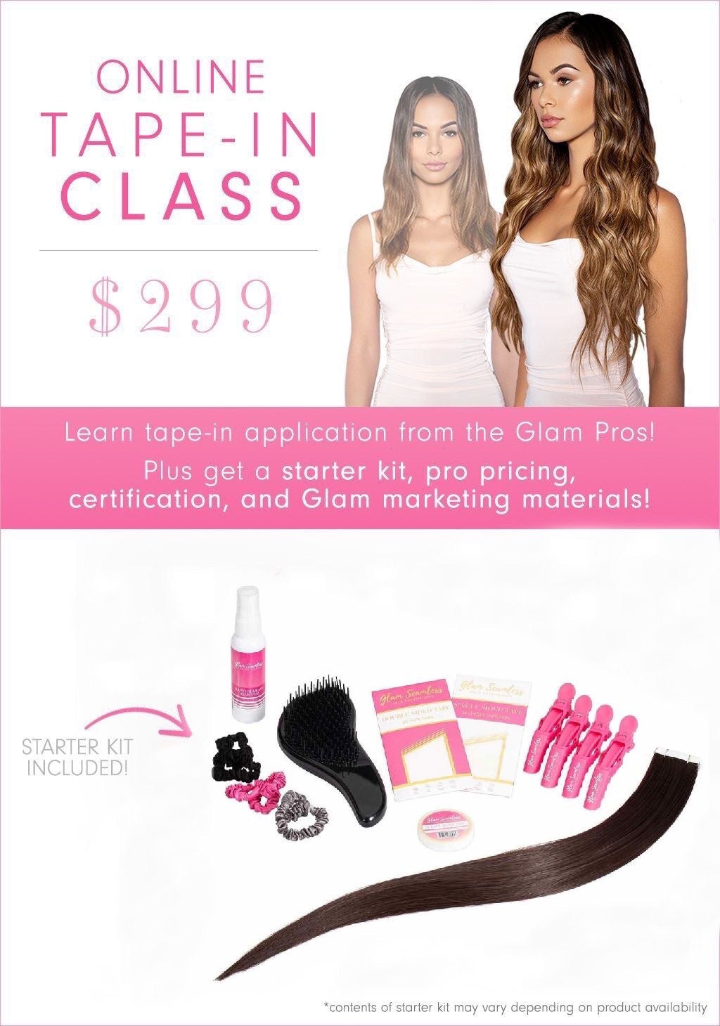 Tape In Hair Extension Certification